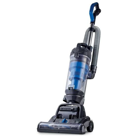 An upright vacuum cleaner is a classic type which comes with a disposable waste bag. Source: Grattan.co