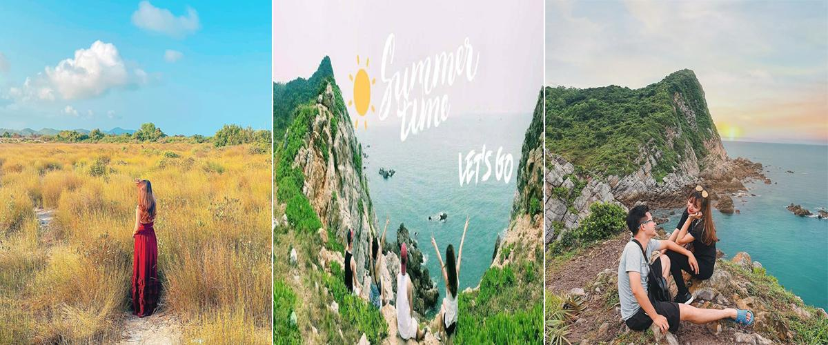 Du lịch Minh Châu tự túc khám phá bãi biển đẹp bậc nhất tại Quảng Ninh
