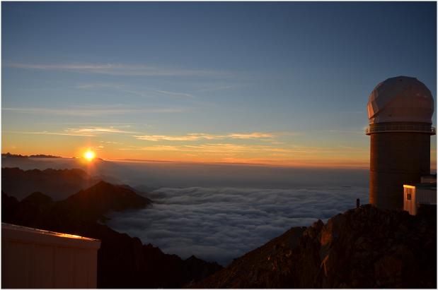 Coucher de soleil sur les Pyrénées bis