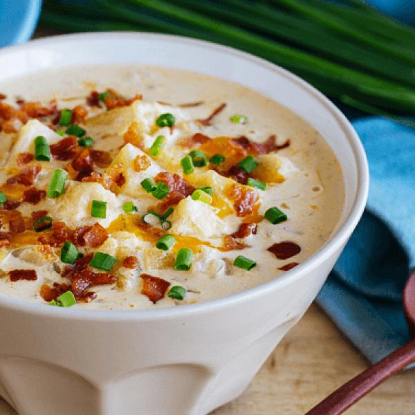 creamy soup dishes baked potato soup