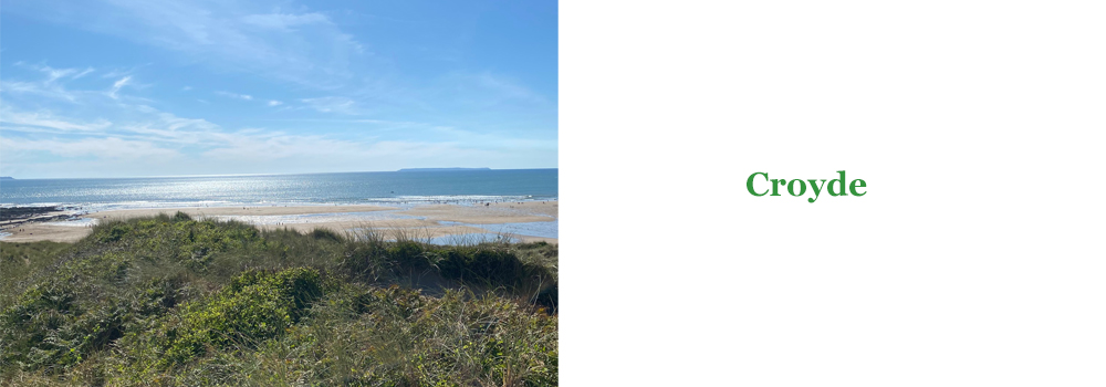 A beautiful, family friendly beach is Croyde situated in North Devon.
