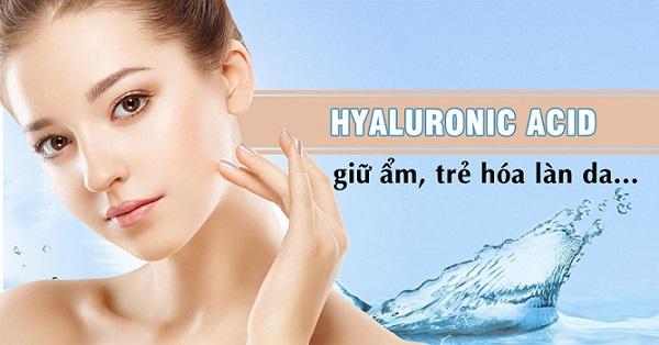 Vai trò của Hyaluronic Acid