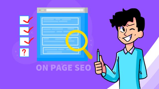 on page seo steps
