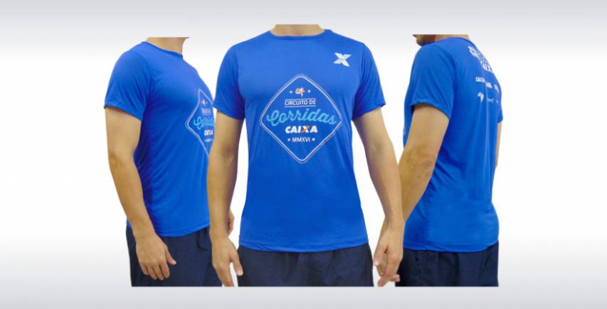 Camiseta de Corrida Personalizada Produzida por Ecco Bolsas