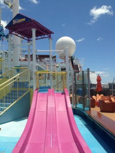 Small Slide at the Carnival Splash Works