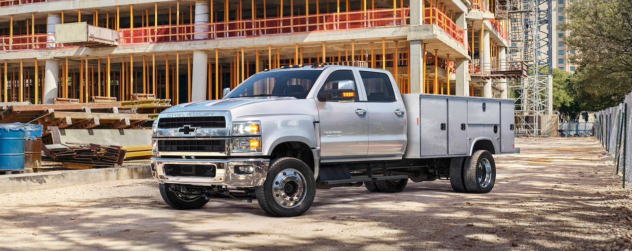 The All New 2019 Silverado Chassis Cabs Landers Chevrolet Of