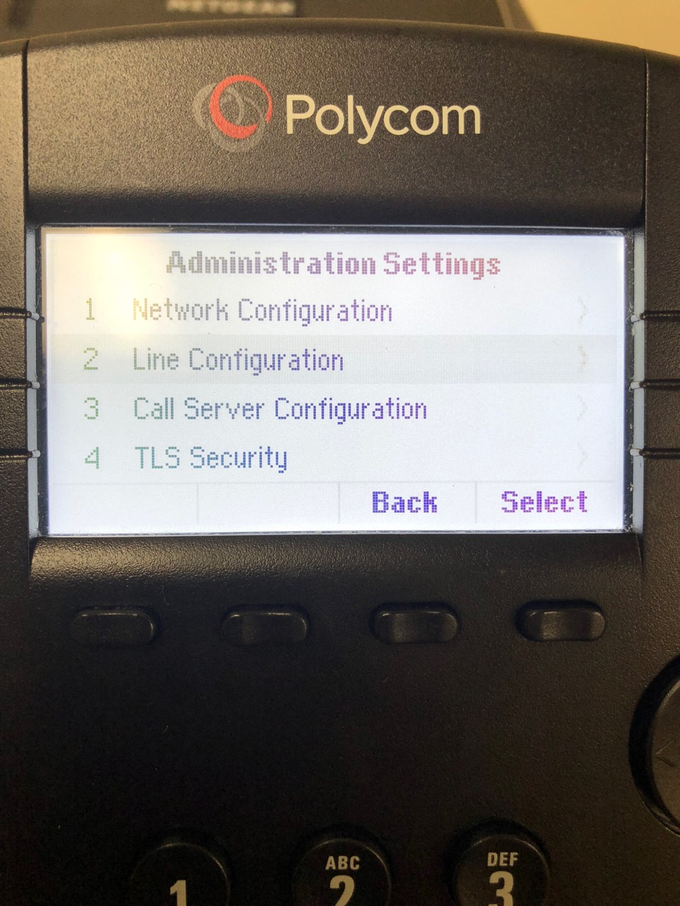 How to Set Up A Polycom Phone with Keypad - Smith ai Support