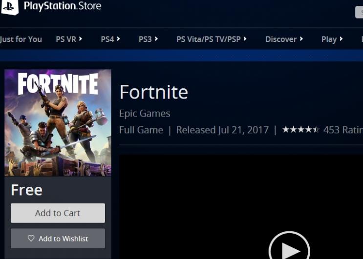 fortnite battle royale ps4 download free