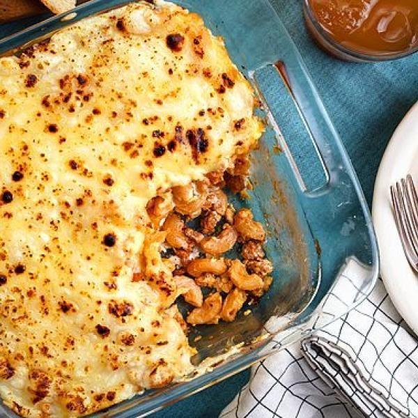 kids snacks ideas creamy baked macaroni