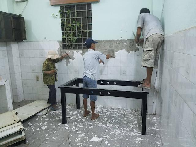 Dịch vụ sửa nhà giá rẻ tại Hồ Chí Minh tại Xây dựng Trường Tuyền