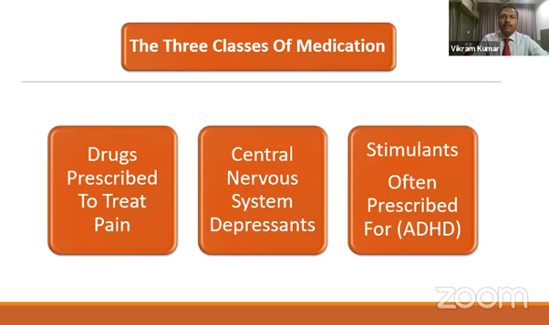 three classes of medication