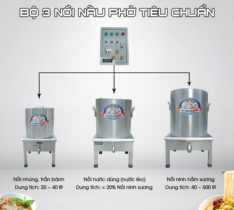 Nồi nấu phở thương hiệu Newsun