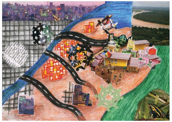 Trabalho de Maracélia Ramos Teixeira em Santo Amaro em Rede: Culturas de Convivência
