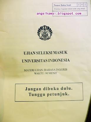 Contoh Essay Bahasa Inggris Masuk Universitas