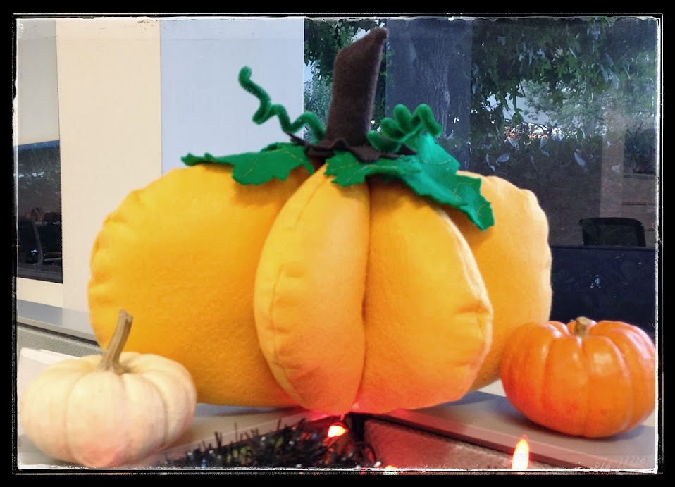 Pumpkin plush