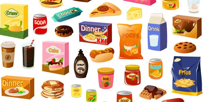 Image result for fast food processed food