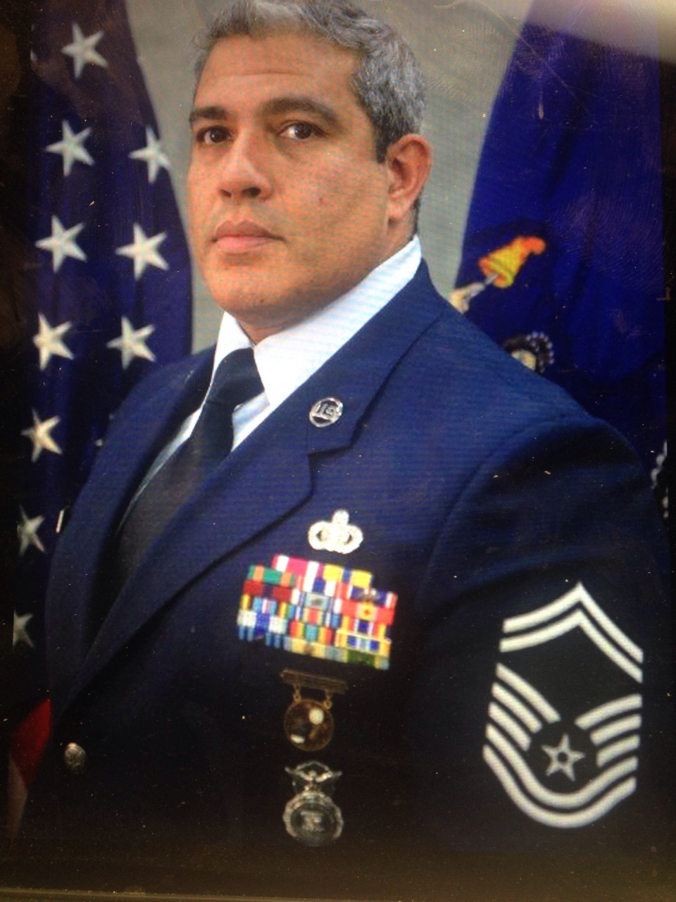 A photo of Federal Agent Eric Fosse in uniform
