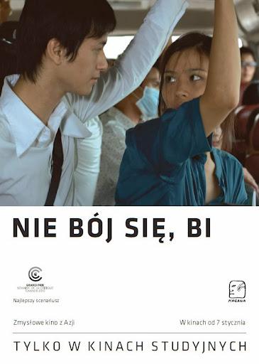 Polski plakat filmu 'Nie Bój Się, Bi!'