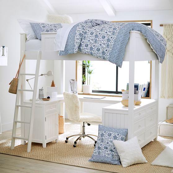 Little Loft Bed for Your Sweet Girl