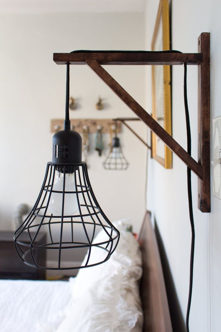Wooden Pendant Light Bracket Ideas