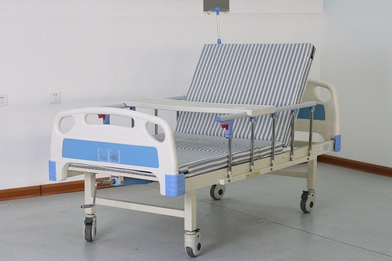 TG-BC01(CS21): GIƯỜNG BỆNH 1 TAY QUAY 3 CHỨC NĂNG - Giường y tế, giường  bệnh nhân, giường bệnh