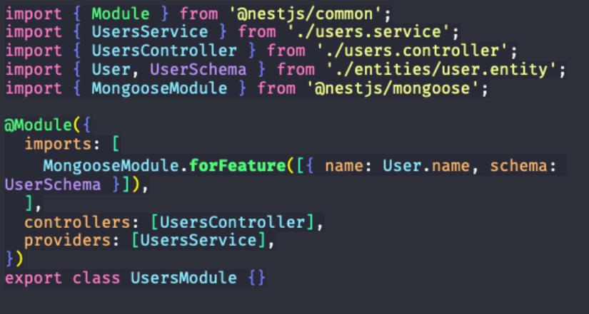 passo para importar conexão com MongoDB