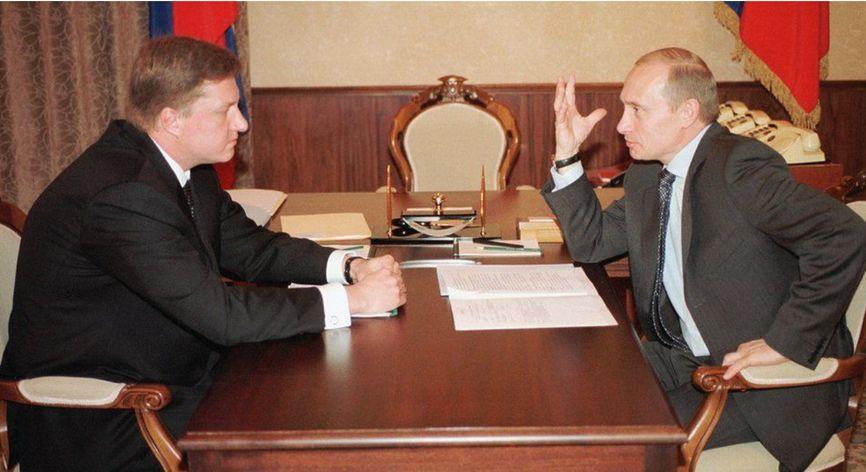 Владимир Чернухин и Владимир Путин