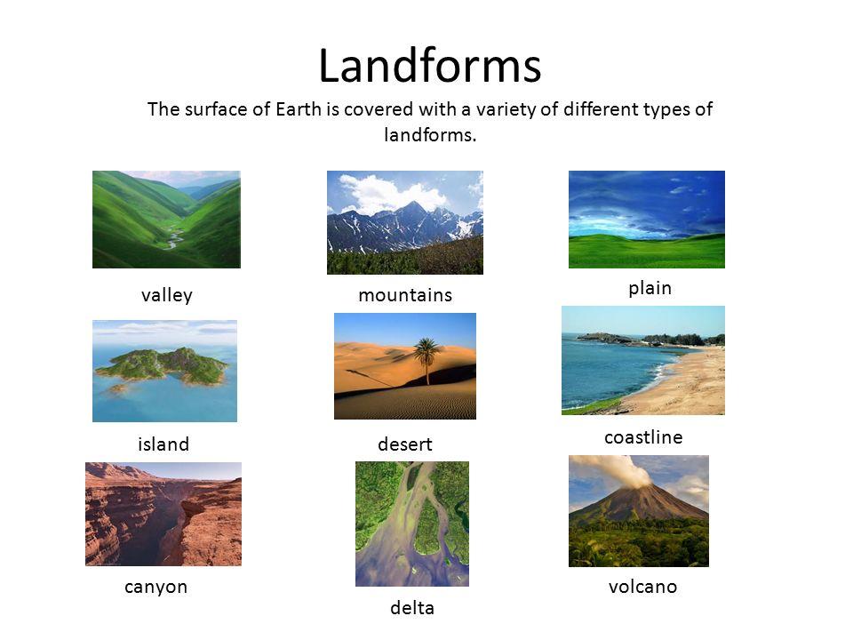 Image result for different landforms