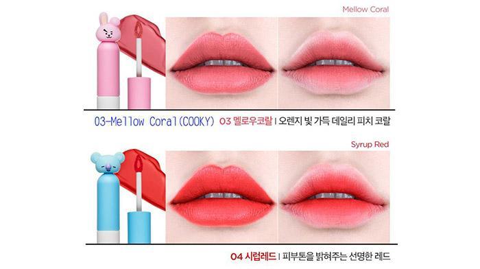 C:\Users\imagine-15\Desktop\0124-韓國 VT~BT21聯名款天鵝絨唇釉D622204\LOOK\5.jpg