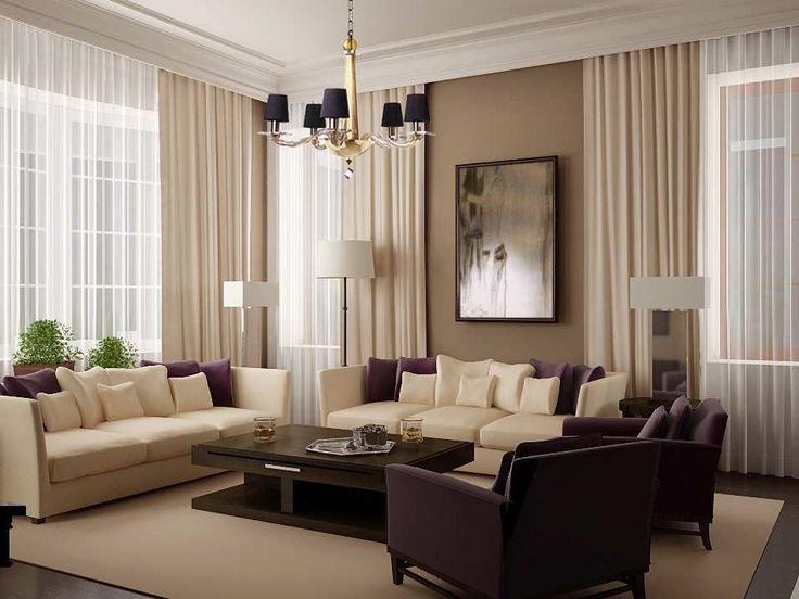 warna cat ruang tamu yang elegan dan cantik