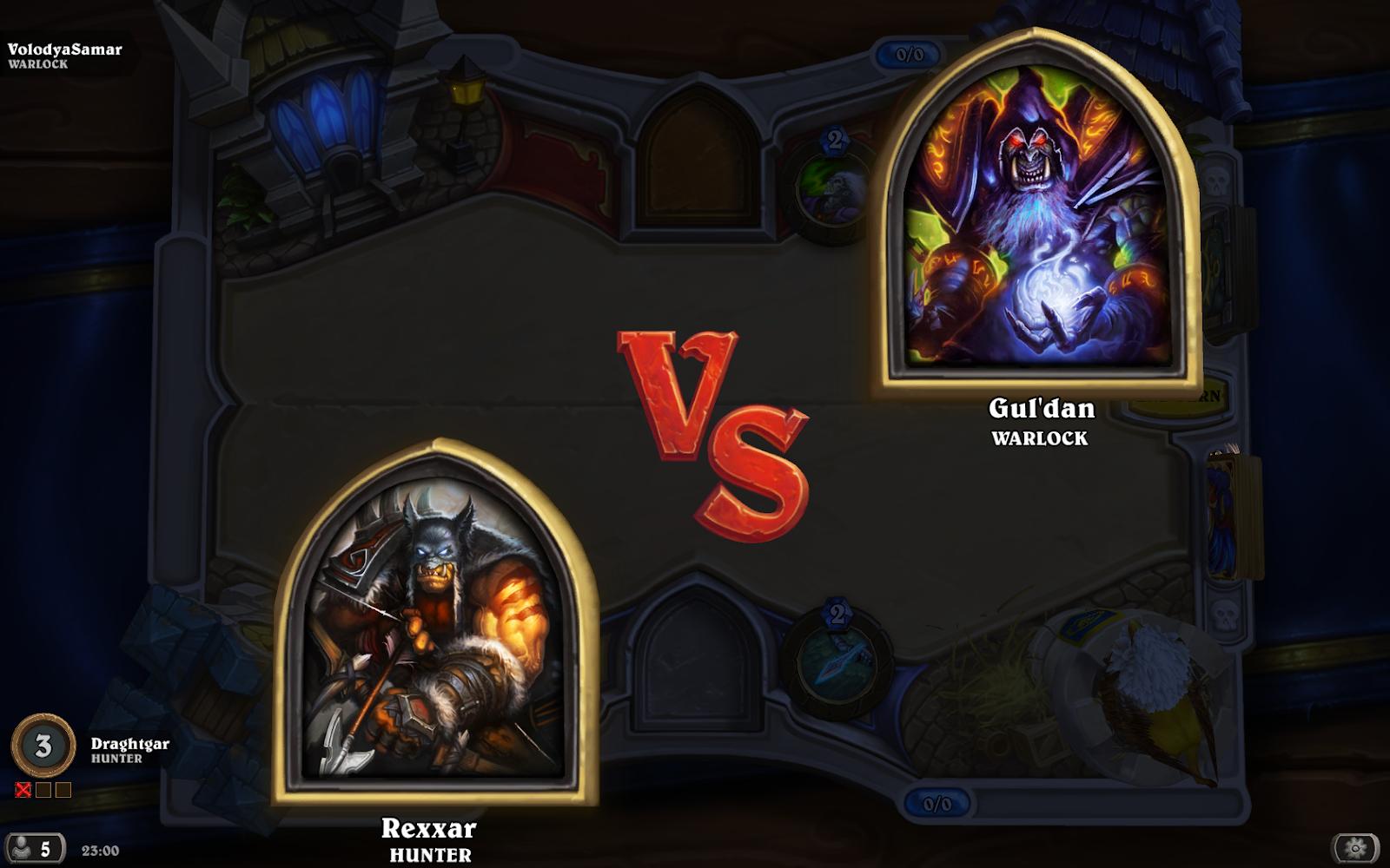 rexxar vs guldan