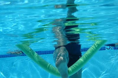Hamstring underwater