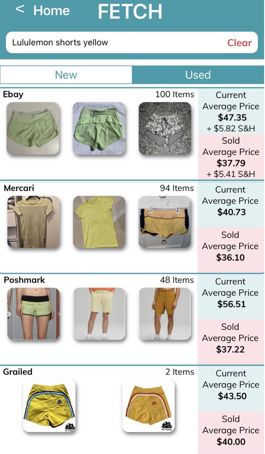Sellhound price comparison tool