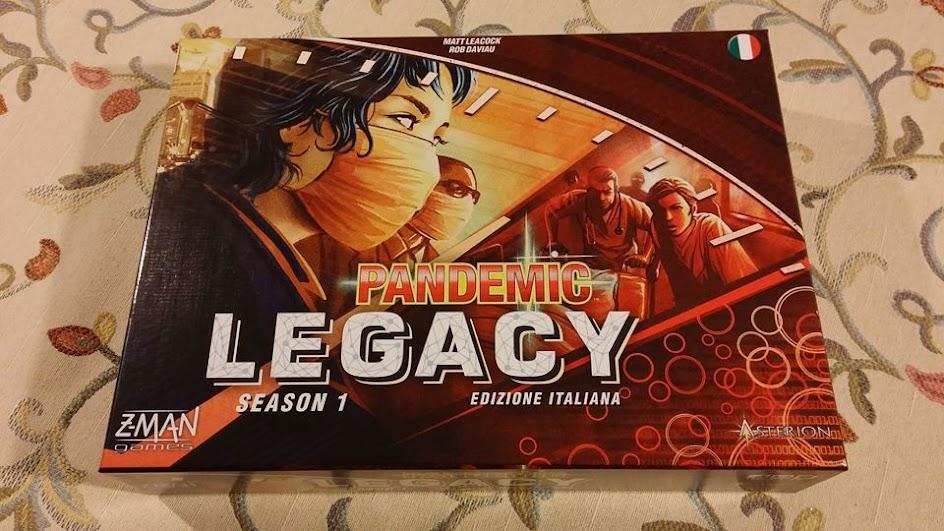 La scatola di Pandemic Legacy