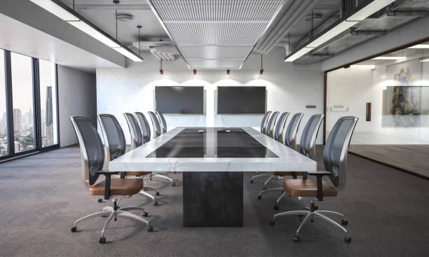 Modern board room Modern board room modern office stock pictures, royalty-free photos & images