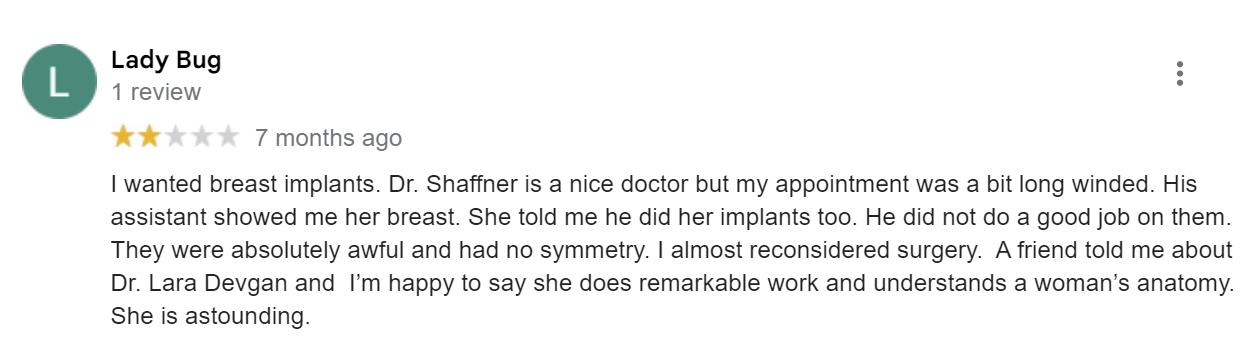 Adam Schaffner, MD, FACS review