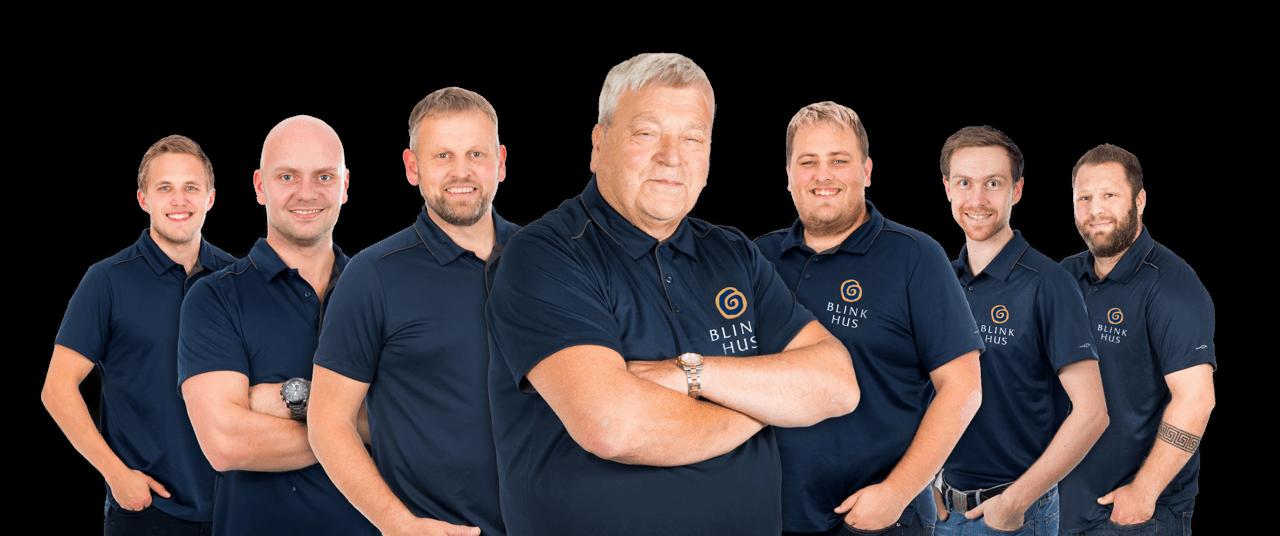 Bilde av våre dyktige og stolte fagfolk, anbefalt byggefirma, beste byggefirma i Bergen