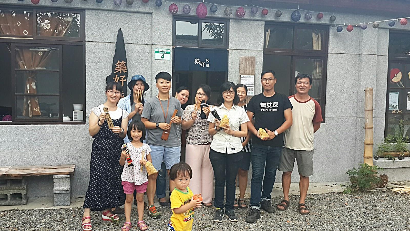 2016/9/18第二期「筷」意生活複合媒材體驗課圓滿成功