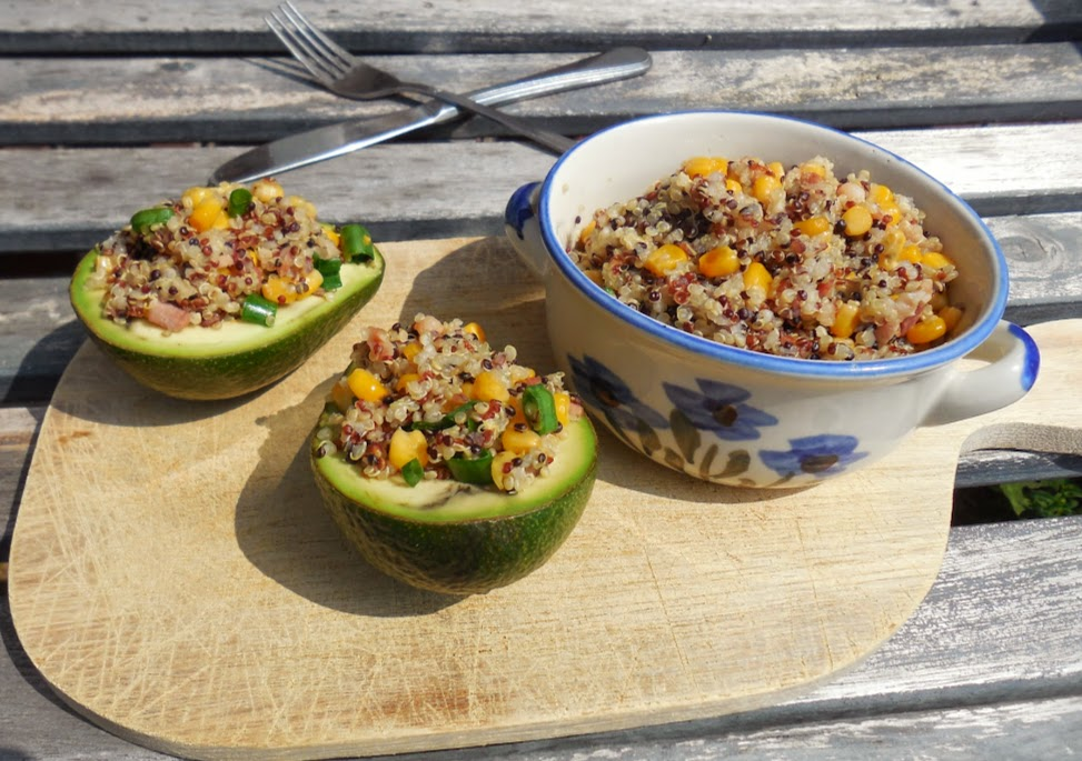 Easy, healthy recipes: Healthy quinoa salad by Welcome to Mommyhood