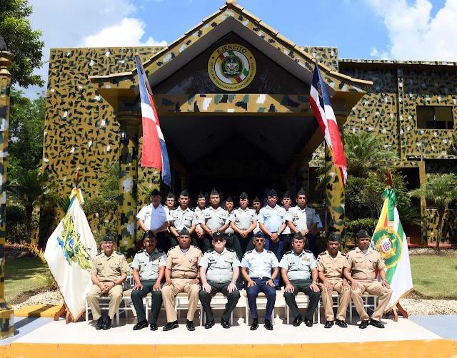 EGEMERD recibe visita de Autoridades y Estudiantes de la Escuela Superior  de Estado Mayor de Nicaragua.