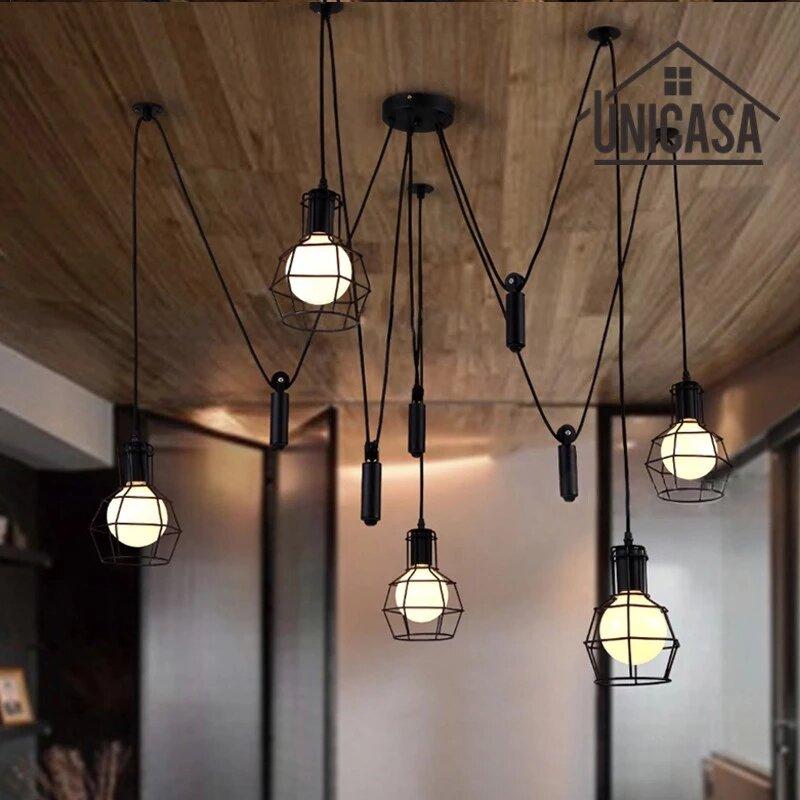 Industrial Bedroom Pendant Light Ideas