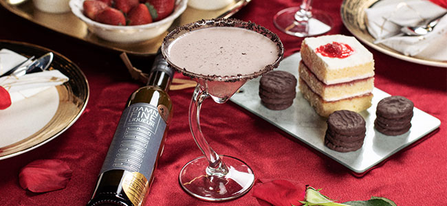 Make Them Blush With This Valentine's Cocktail