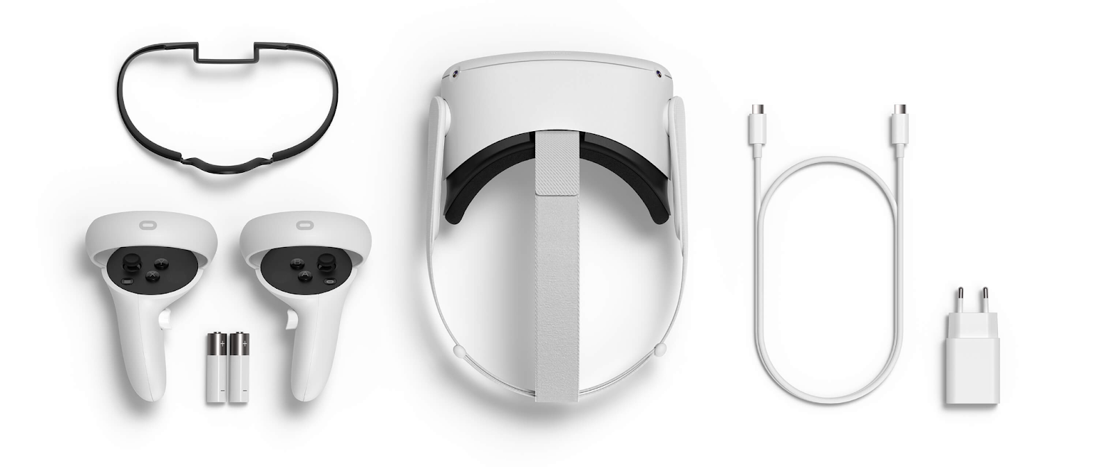 Manettes et casque VR