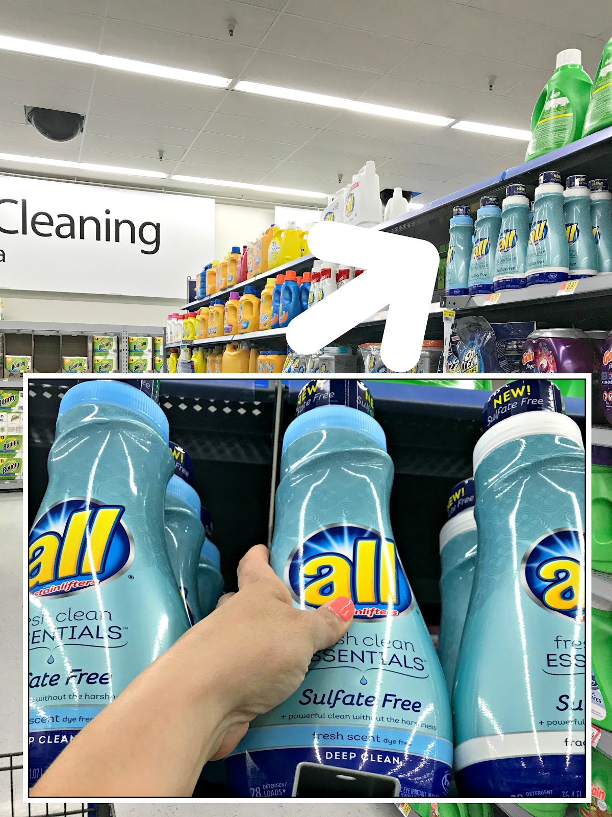 #FreeOfSulfates #ad Camper Basket to go, Cleaning basket for a camper, How to stay clean camping, Camping hacks to stay clean, AVEENO PURE RENEWAL® coupon, all® fresh clean ESSENTIALS® coupon, Sulfate free laundry detergent, sulfate free shampoo and conditionerIMG_2416.jpg