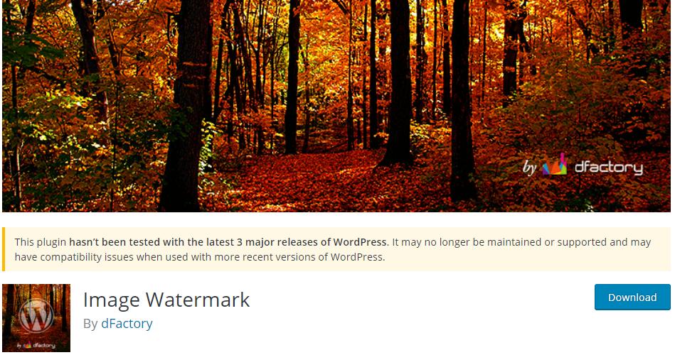 Image Watermark for Image Hotlink WordPRess