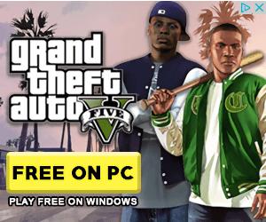 Grand Theft Auto Five Ad Creative