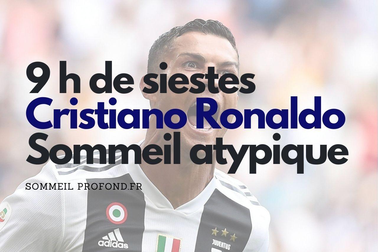 Cristiano Ronaldo, CR7, routine sommeil