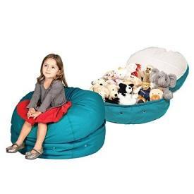 Mimish Storage Beanbag, A Stylish Storage Solution  ... see more at InventorSpot.com