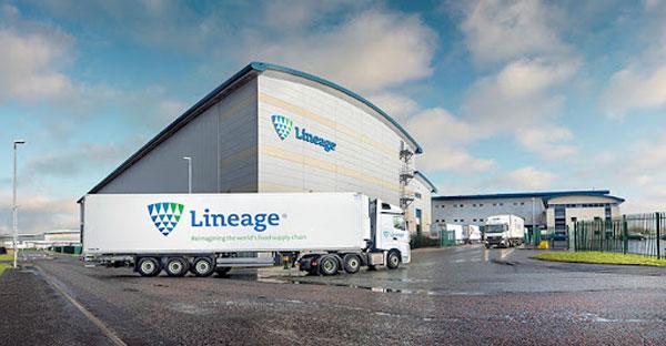 Lineage là nhà cung cấp dịch vụ logistics liên quan đến các yếu tố kiểm soát nhiệt độ hàng hóa lớn nhất toàn cầu