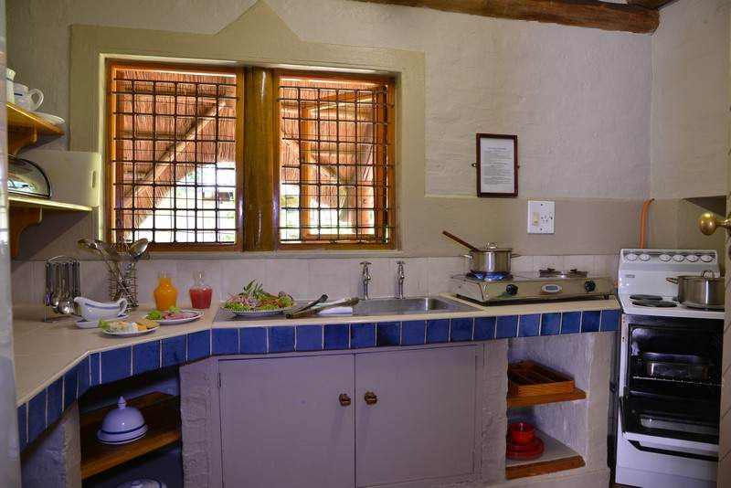 kitchen area at Lokuthula